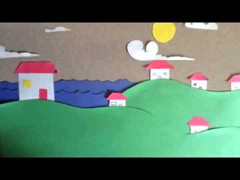 Geologic Time Scale in Stop Motion