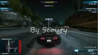 Gameplay Need For Speed Most Wanted 2012 Beating Venom GT Spyder GTX550 Ti Q6600 3GHZ
