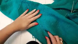 Втачной рукав спицами. Секреты вязания рукава
