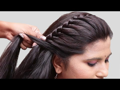 5 Easy Braided Hairstyles for Party/wedding| hairstyles