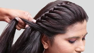 5 Easy Braided Hairstyles for Party/wedding || Side braid hairstyles || hairstyles | 2019