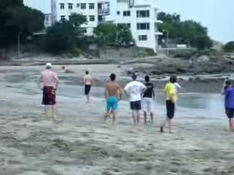 Beach Ultimate Frisbee 2 @ Hong Kong