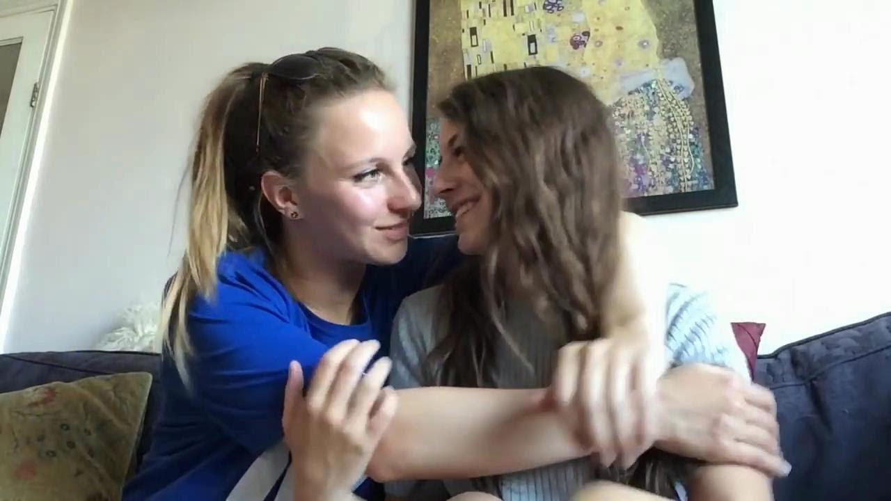 Saskia And Lily Cute Lesbian Couple 5