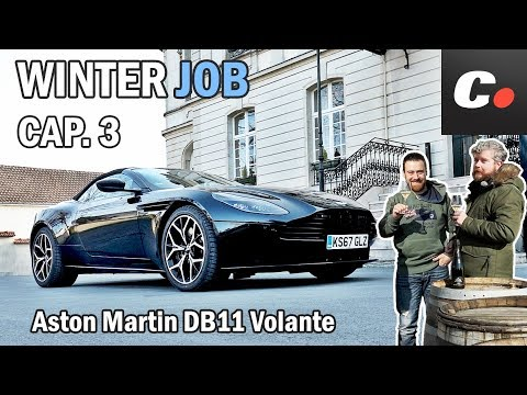 Aston Martin DB11 Volante | Prueba / Test / Review en español | WINTER JOB Cap.3 | coches.net