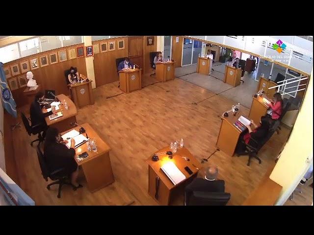 Transmisión en vivo de Concejo Deliberante Trelew Sesion N° 825