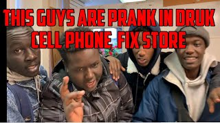 Prank inside mobile store But .....
