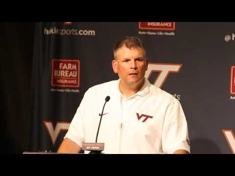 2016-09-24 - Football vs ECU - Head Coach Justin Fuente