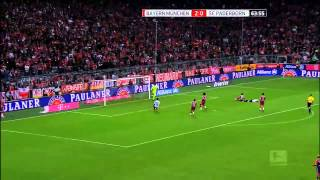 Video Gol Pertandingan FC Bayern Munchen vs Paderborn