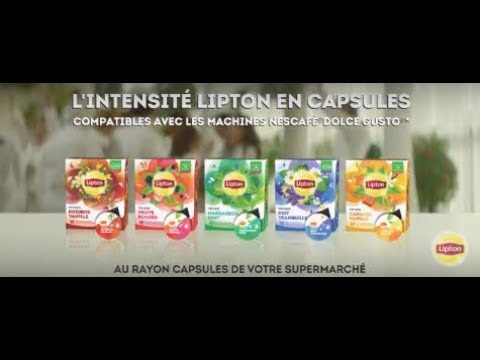 les capsules de th s et infusion lipton compatibles nescaf dolce gusto lipton youtube. Black Bedroom Furniture Sets. Home Design Ideas