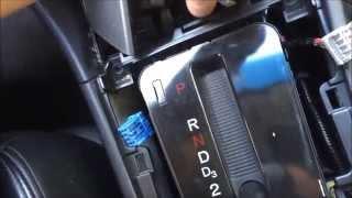 2005 Honda Accord Auxiliary Port Install (aux port install)