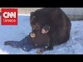 Χάδια και παιχνίδια με μία αρκούδα 635 κιλών!
