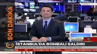 #SONDAKİKA İstanbul'da bombalı saldırıdan ilk görüntüler