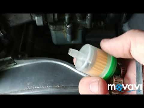 Как поставить бензиновый фильтр на ИЖ.
