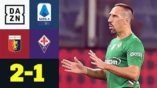 Ribery, Boateng & Co. verlieren erneut: CFC Genua - Florenz 2:1 | Serie A | DAZN Highlights