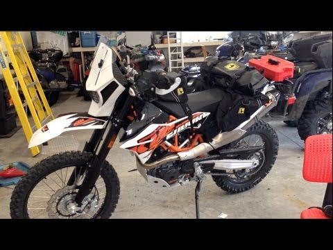 KTM 690 ENDURO R ADVENTURE MOTORCYCLE SETUP