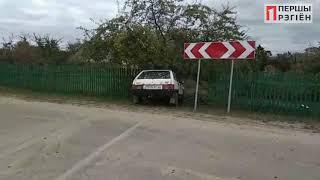 Жигуль не увійшов в поворот у Дрогичине 6 жовтня 2019
