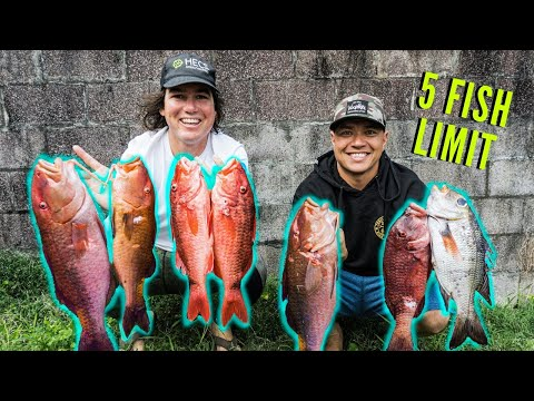 Spearfishing Hawaii Epic Location Only 5 Fish Allowed
