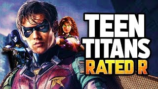 TEEN TITANS Live Action Series Is RATED R - Episode 1 Pilot Breakdown