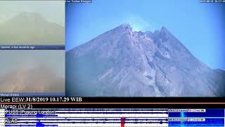 31/8/2019 - Mt Merapi TimeLapse