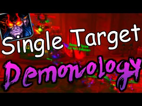 8.2 Demonology Warlock PvE Guide - Single Target - How to Use Tyrant [World of Warcraft]
