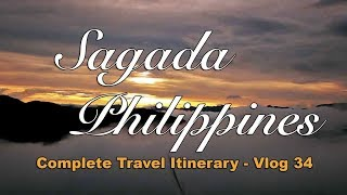 Sagada Tour Package itinerary for 2017 to 2018
