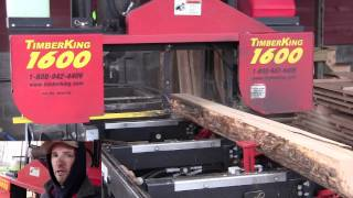 Sawmill Timber King 1600 - Bill St Pierre Kk4ww