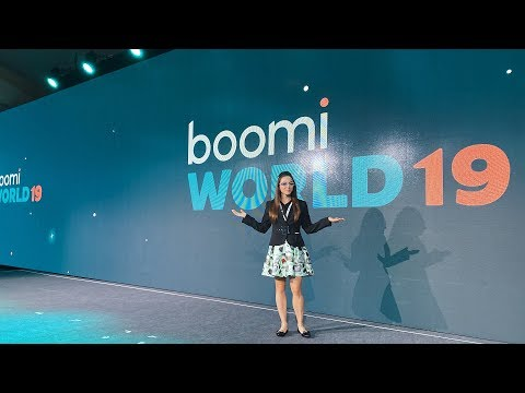 Behind the Scenes at Boomi World 2019