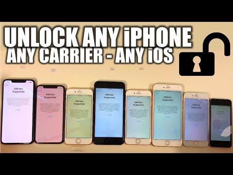 How To Unlock Any iPhone From Any Carrier In 1 Minute - XS/XR/X/8/7/6/5