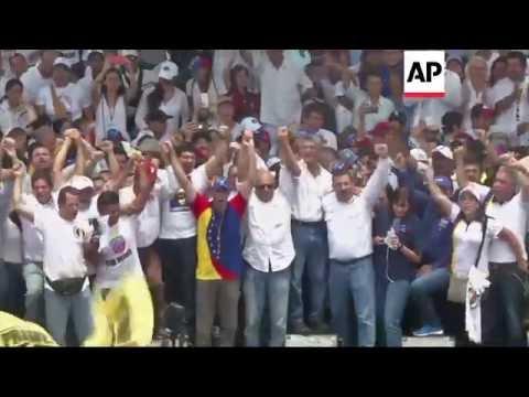 Caracas - Venezuela opposition stage massive rally | Editor's Pick | 1 Sept 16