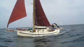 Bristol Channel Cutter Elizabeth Sailing South 120509