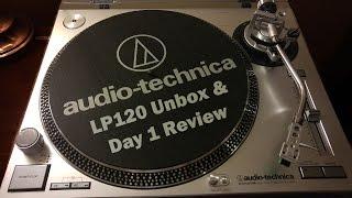 Audio Technica LP120 - USB Turntable Unbox & Review