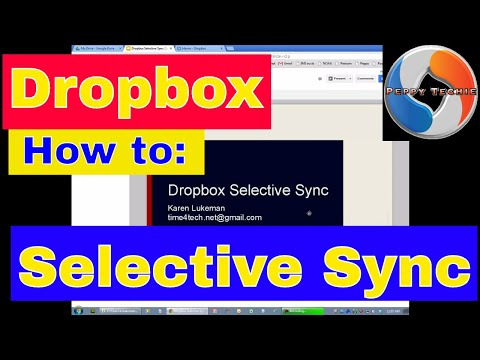 Dropbox Selective Sync How To: