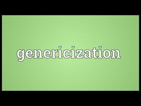 Genericization Meaning