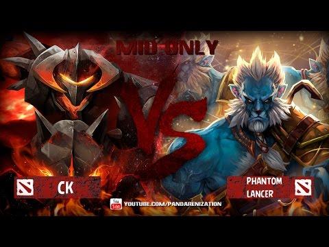 видео: chaos knight vs phantom lancer [Битва героев mid only] dota 2