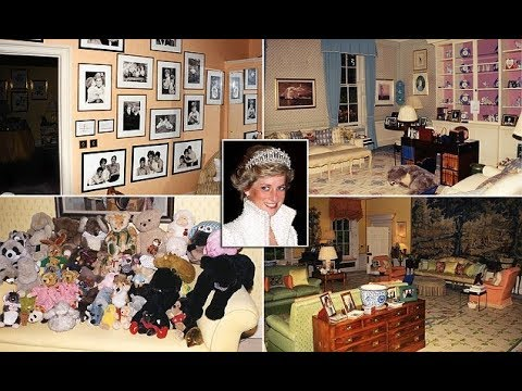 Princess Diana Kensington Palace Apartment