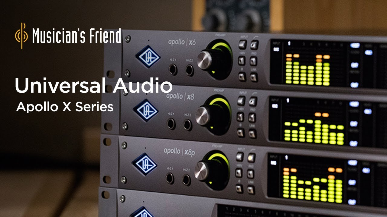 Universal Audio Apollo X Audio Interface Series Overview