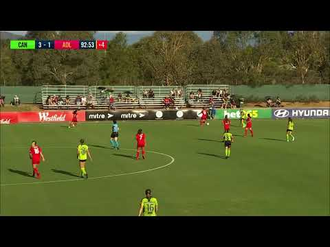 Westfield W-League 2019/20: Round 12 - Canberra United Women V Adelaide United Women (Full Game)
