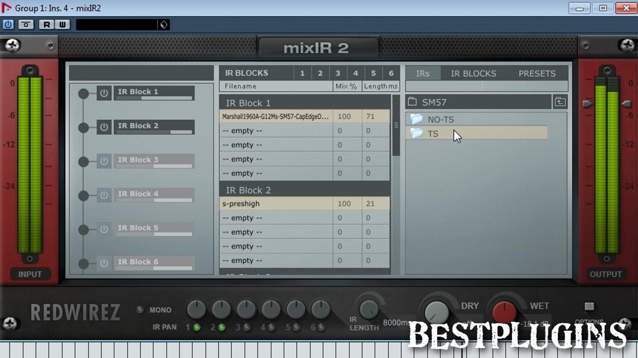 MixIR 2 - plugin for guitar / bass Impulse Responses :)