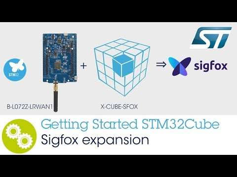 Getting Started with STM32 Sigfox software expansion for STM32CUBE