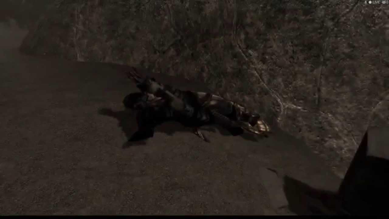 Skyrim dark souls death sound youtube