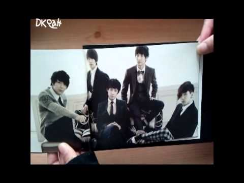 FT Island 4th Mini album Grown Up (unboxing)