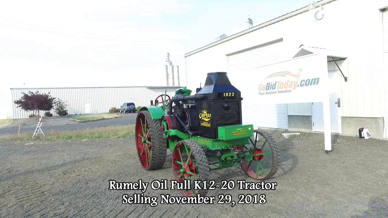 Rumely Tractor For Sale