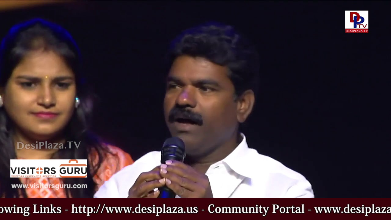 MLA Rasamayi Balkishan joshful performance at World Telangana Convention 2018 - ATA - DesiplazaTV