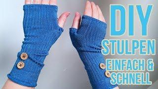 Armstulpen aus Socken selber machen | Stulpen DIY