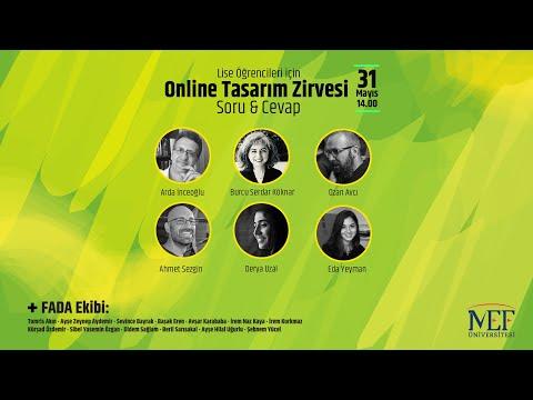 Lise Öğrencileri için Online Tasarım Zirvesi/2020