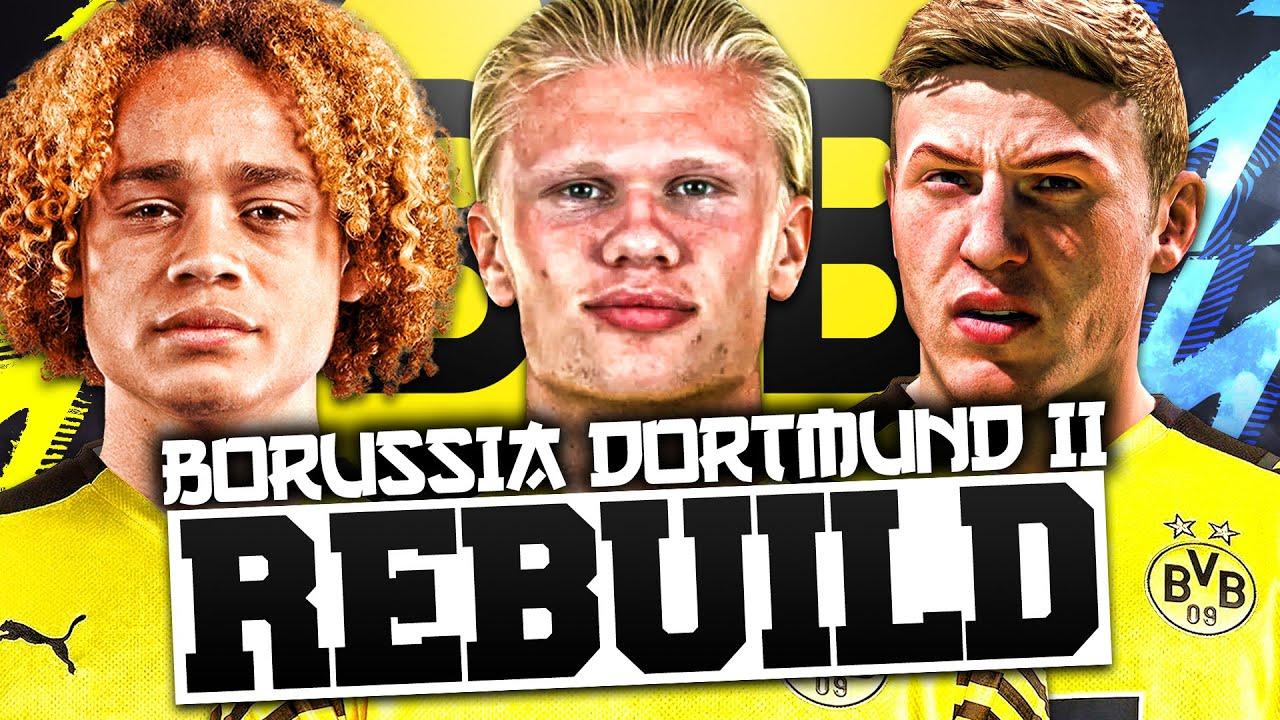 Download REBUILDING BORUSSIA DORTMUND II !!! FIFA 22 Career Mode