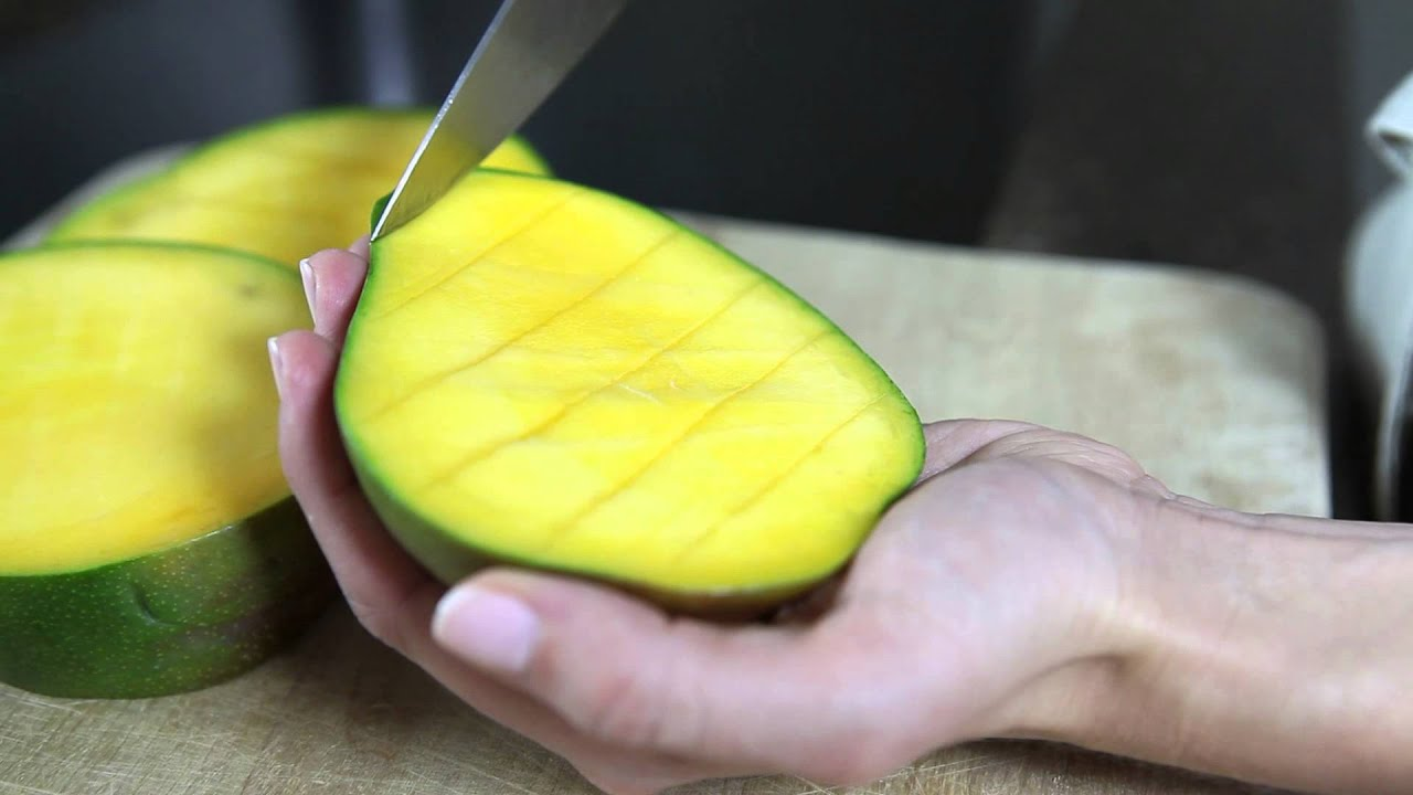 How To Cut A Mango  Cooking Tips & Tricks