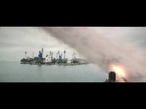 hunter killer (destroyer scene)