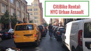 NYC CitiBike Rental Review and Pedal in NYC
