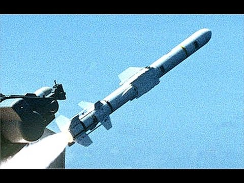 MOST POWERFUL !!! US Military Harpoon Missile Tested in Military Training